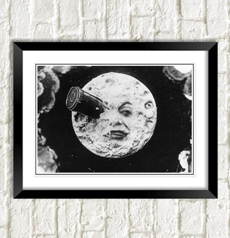 TRIP TO THE MOON: Classic Silent Film Artwork - The Print Arcade