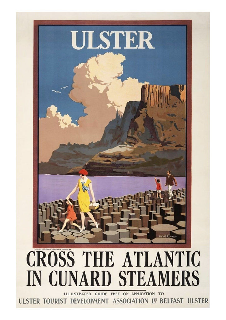 ULSTER POSTER: Vintage Tourism Advert Print - The Print Arcade
