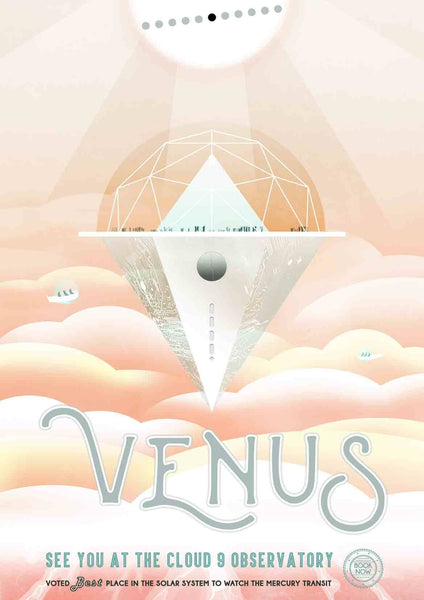 VENUS POSTER: NASA 'Visions of the Future' Space Print - The Print Arcade