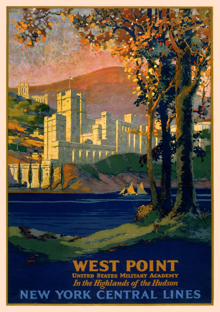WEST POINT POSTER: Vintage Military Academy Art Print - The Print Arcade