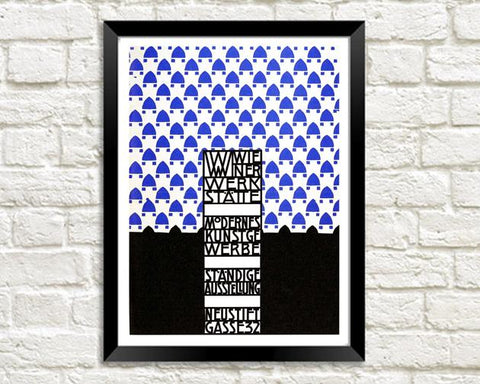 WIENER WERKSTATTE PRINTS: Art Exhibition Posters - The Print Arcade