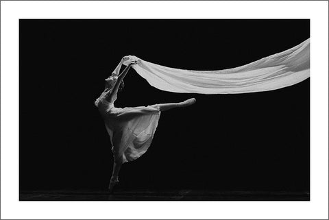 BALLET DANCER PRINT: Black and White Photo Art