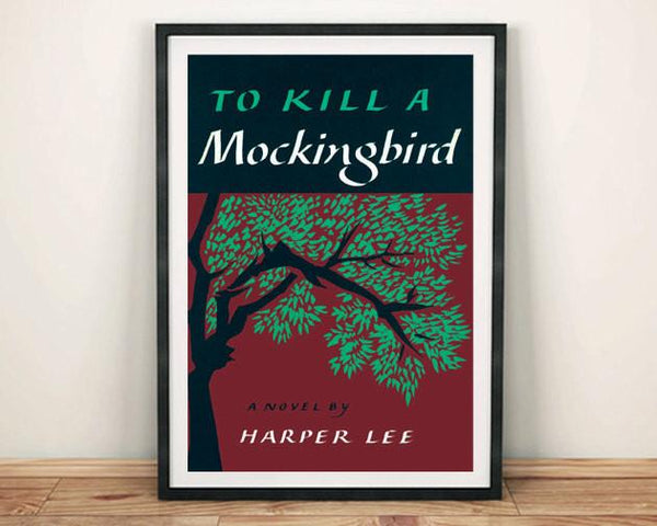 TO KILL A MOCKINGBIRD: Vintage Book Cover Art Print Poster - The Print Arcade