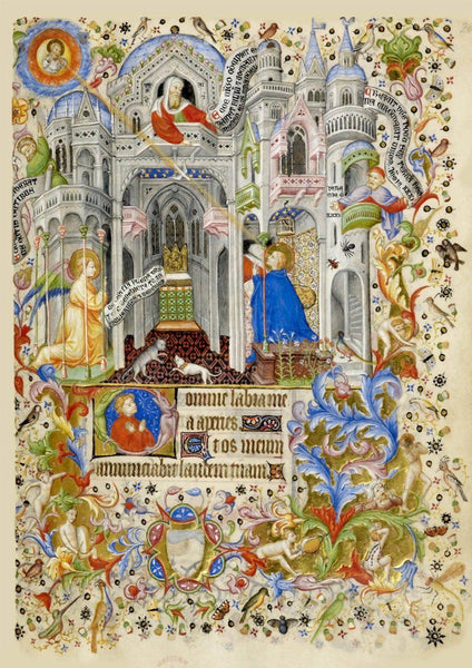 ANNUNCIATION PRINT: Christian Religious Artwork - The Print Arcade