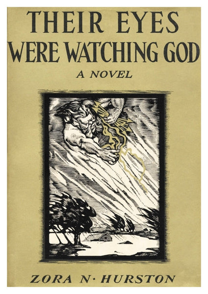 VINTAGE BOOK COVER: Their Eyes Were Watching God - The Print Arcade