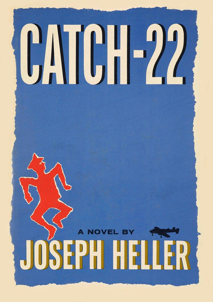 Old Book Cover Posters ~ Catch poster vintage book cover art print the