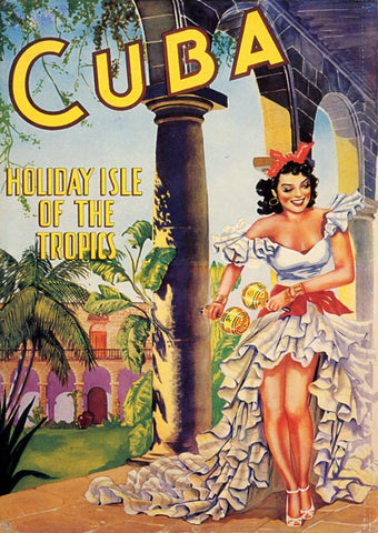 CUBA TRAVEL POSTER: Vintage Advert Art Print - The Print Arcade