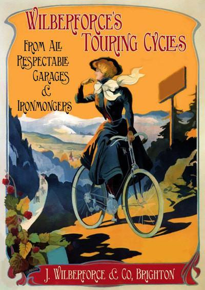 BICYCLE POSTER: Vintage Cycle Advert Print - The Print Arcade