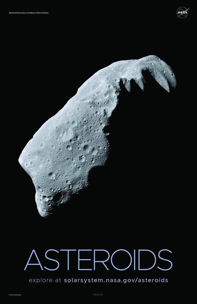 NASA ASTEROIDS POSTERS: Solar System Series - The Print Arcade
