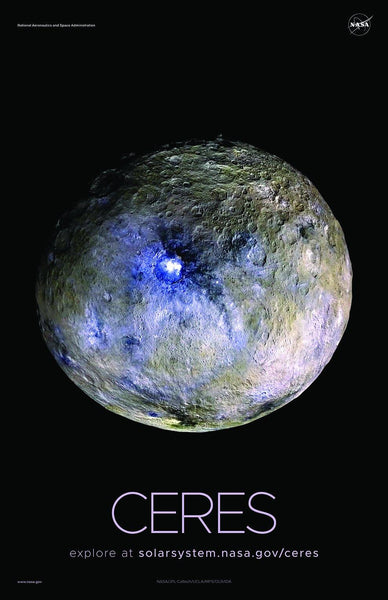 NASA CERES POSTERS: Solar System Series
