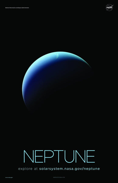 NASA NEPTUNE POSTERS: Solar System Series