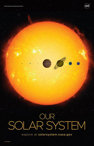 NASA POSTERS: Our Solar System - The Print Arcade