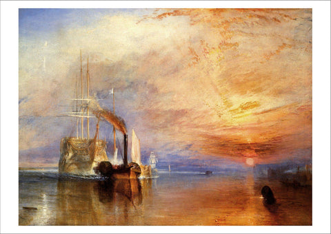 JMW TURNER: The Fighting Temeraire, Fine Art Print - The Print Arcade