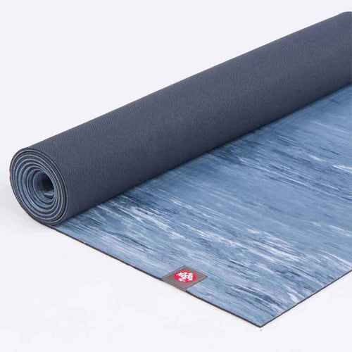 eko® yoga mat 6mm - Marbled Blue - manduka - Palm Beach Athletic Wear