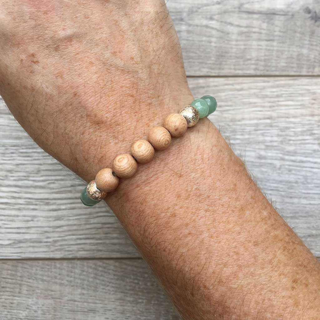 I'm Partial to the Sunshine Gemstone Bracelet - JOM Jewelry - Just One More - Palm Beach Athletic Wear