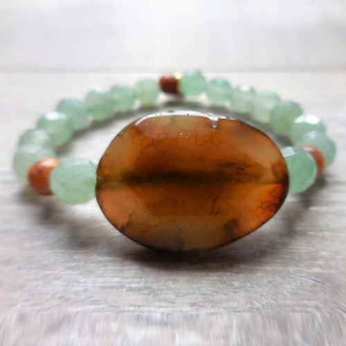 Leprechaun Crack Gemstone Bracelet - JOM Jewelry - Just One More - Palm Beach Athletic Wear