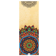 Yoga Mat Towel - Mandala Spirit - Zen Life - Palm Beach Athletic Wear