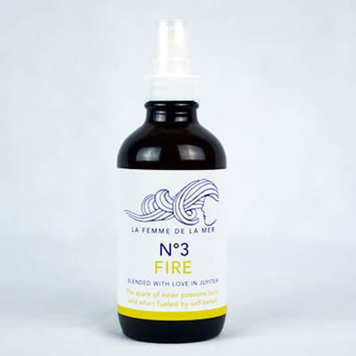 N°3 FIRE – CENTER – Chakra Mist 4 fl oz. / 120ml - La Femme De La Mer - Palm Beach Athletic Wear