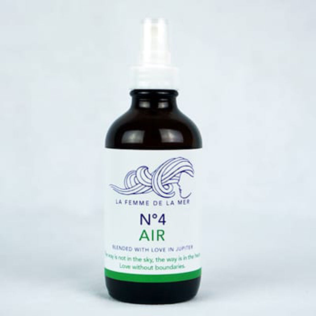 N°4 AIR – HEAL – Chakra Mist 4 fl oz. / 120ml - La Femme De La Mer - Palm Beach Athletic Wear