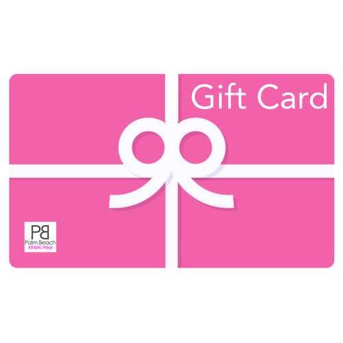 Gift Card - Palm Beach Athletic Wear - Palm Beach Athletic Wear