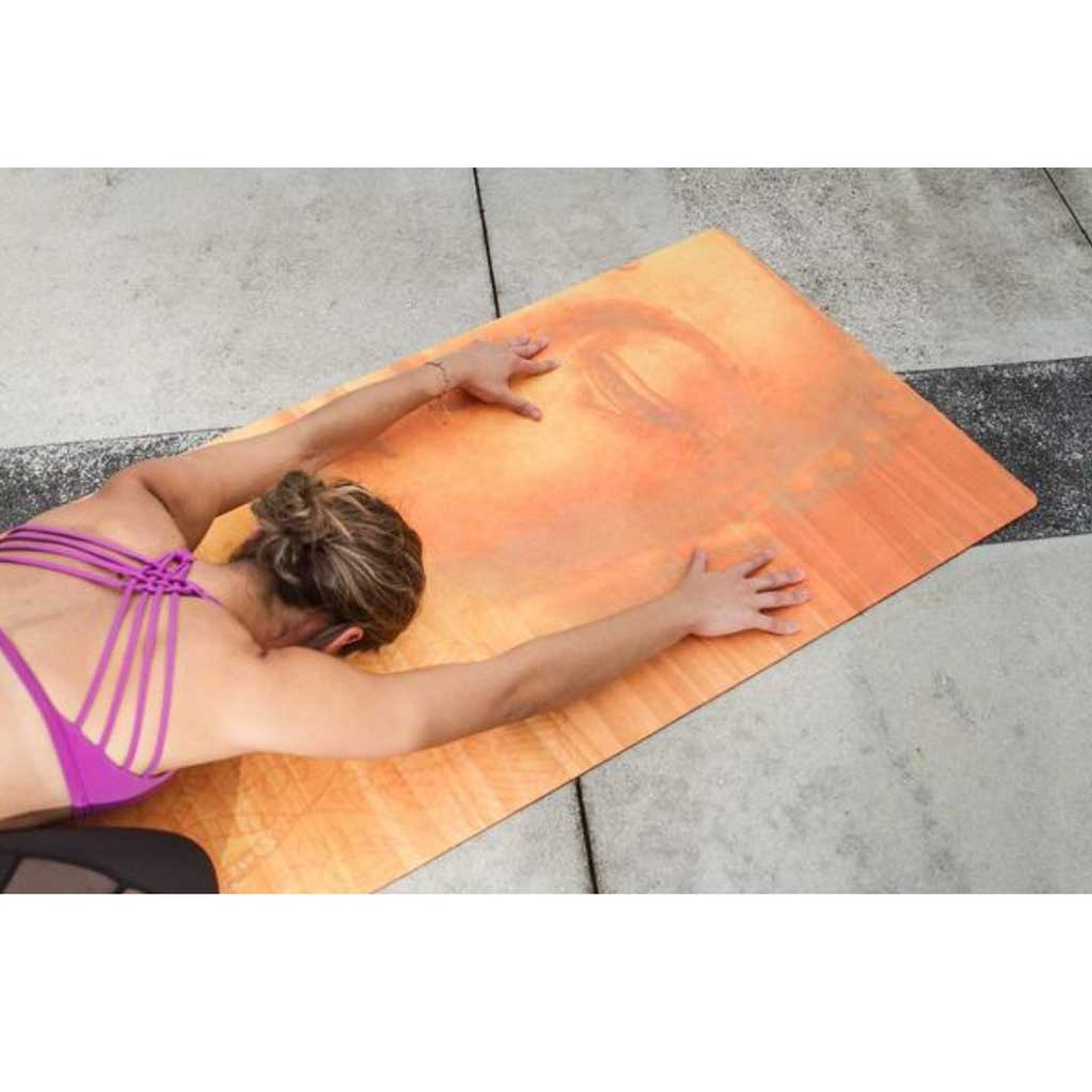 Peaceful Buddha Yoga Mat - Zen Life - Palm Beach Athletic Wear