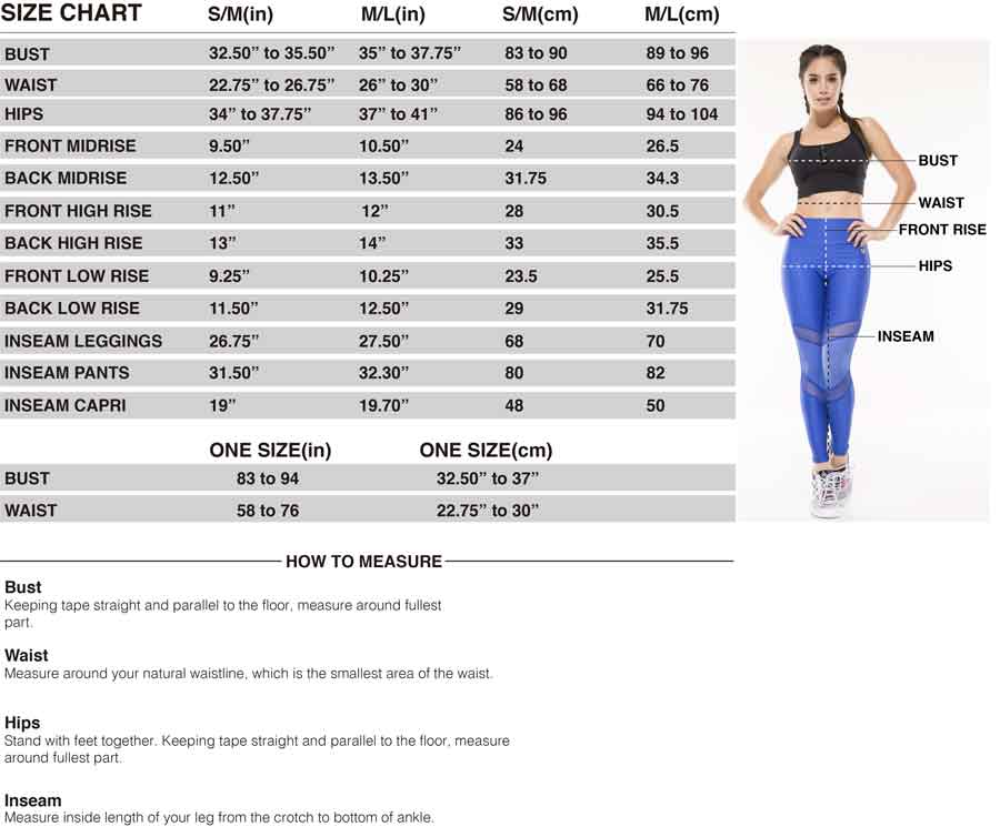 Protokolo size guide - find your perfect fit