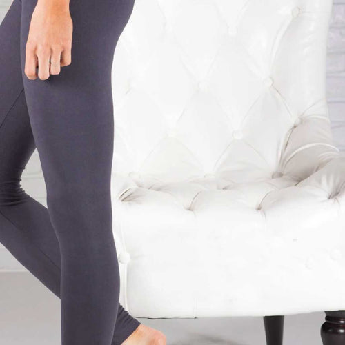 Charcoal Tummy Control Legging - Palm Beach Athletic Wear - Palm Beach Athletic Wear