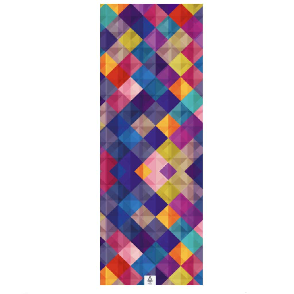 Zen Colors extra long absorbant yoga mat towel by ZenLife.