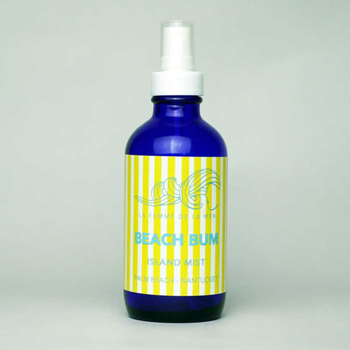 BEACH BUM - Island Essential Oil Mist - 4 fl oz. / 120ml - La Femme De La Mer - Palm Beach Athletic Wear