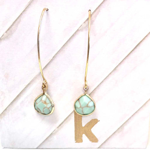 Beauty in Simplicity Teardrop Earrings