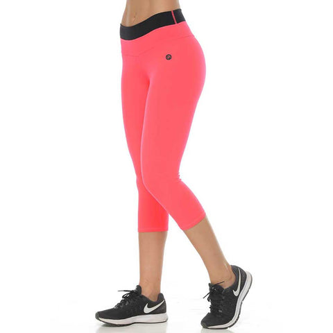 Red Mesh Legging