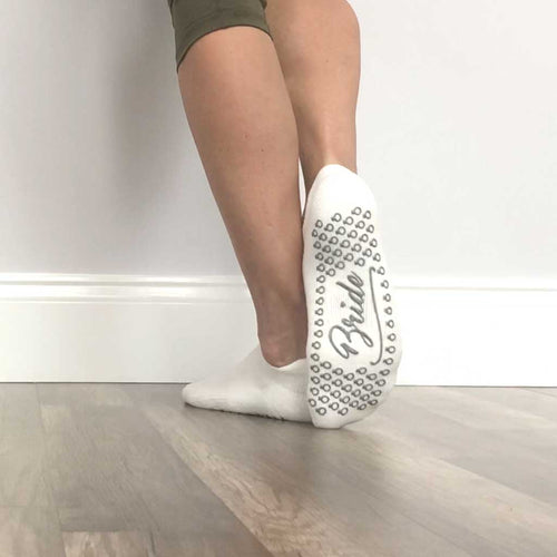 Bride Grip Socks - Barre Socks - Palm Beach Athletic Wear