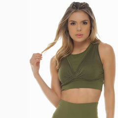 Emma Sports Bra - Full Coverage - Protokolo - Palm Beach Athletic Wear
