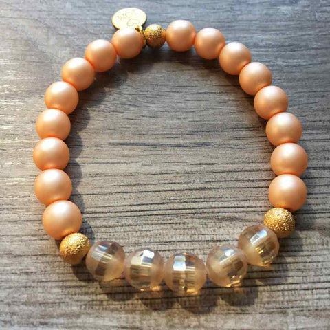 Gotta Have Good Humor Pearl Bracelet