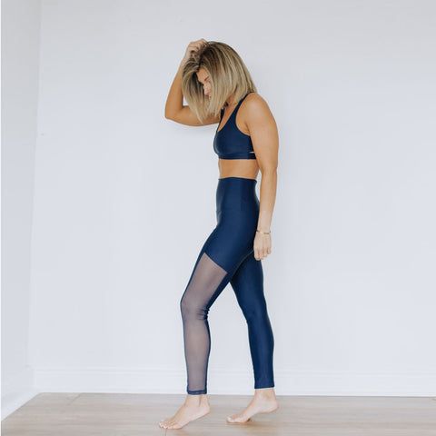 Irene Navy Leggings