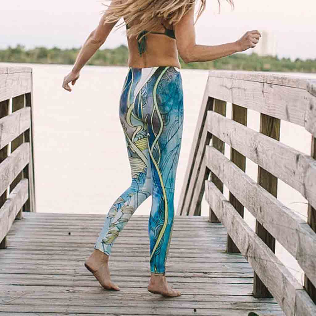 Lorelei Yoga Leggings - Pique Studios - Palm Beach Athletic Wear