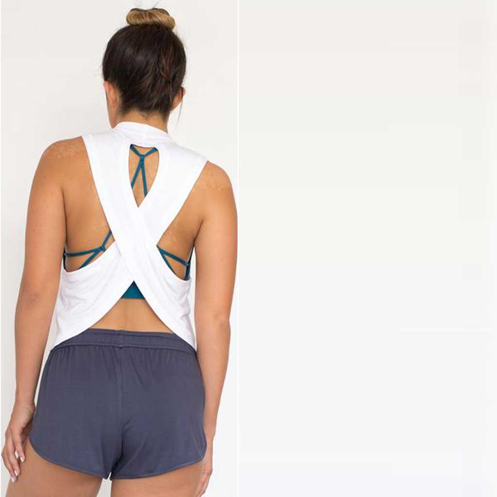 Mantra Open Back Tank - Jiva - Palm Beach Athletic Wear