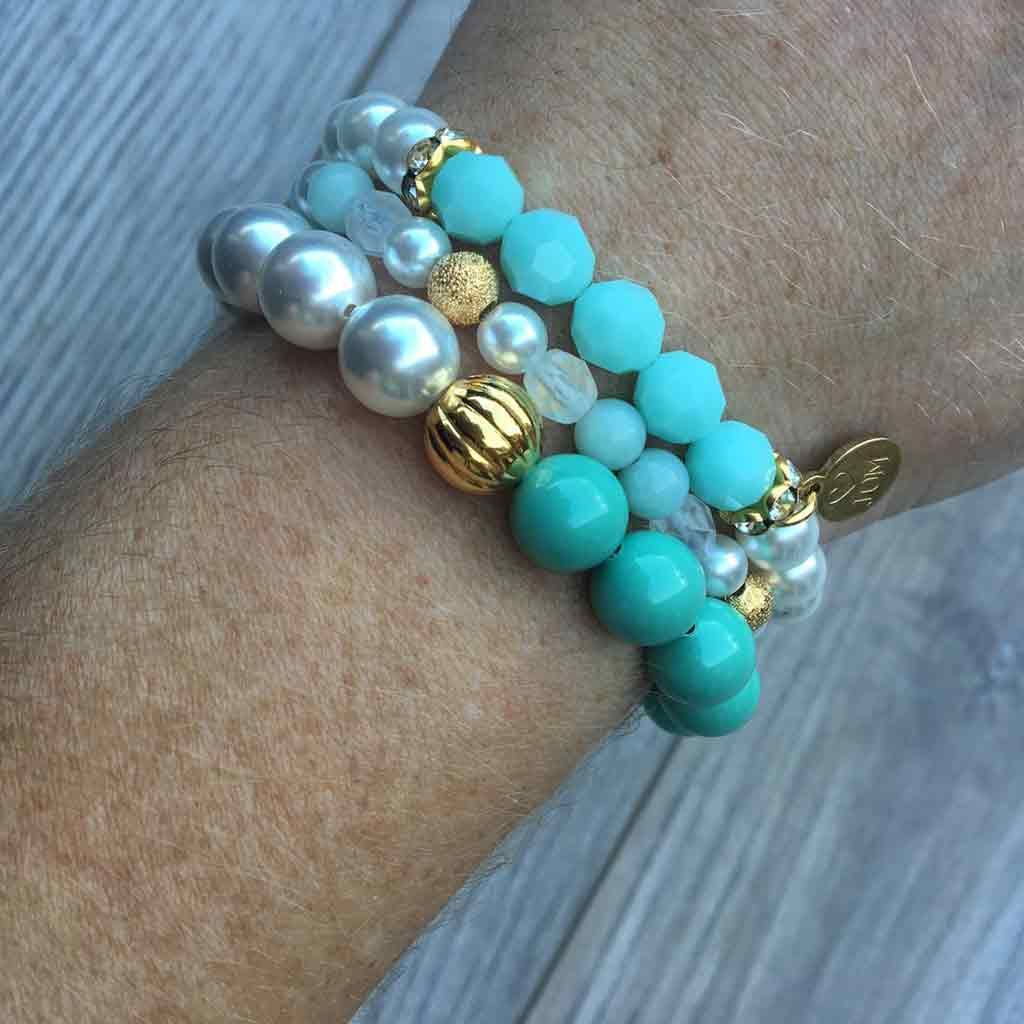 Mint Satisfaction Bracelet - JOM Jewelry - Just One More - Palm Beach Athletic Wear