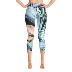 Mist Capri Leggings - Palm Beach Athletic Wear - Palm Beach Athletic Wear