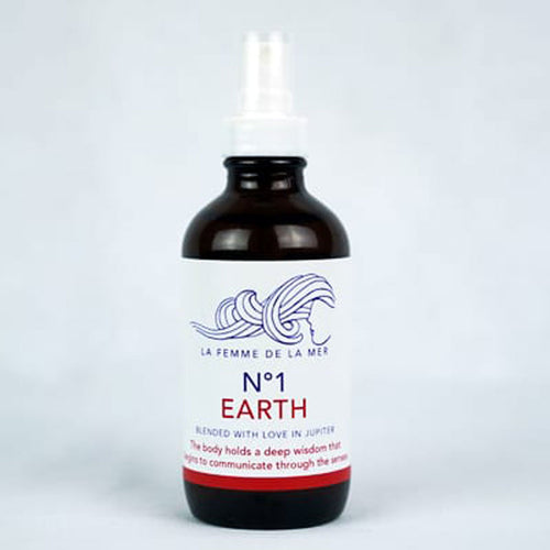 N°1 EARTH – GROUND Mist– 4 fl oz. / 120ml - La Femme De La Mer - Palm Beach Athletic Wear