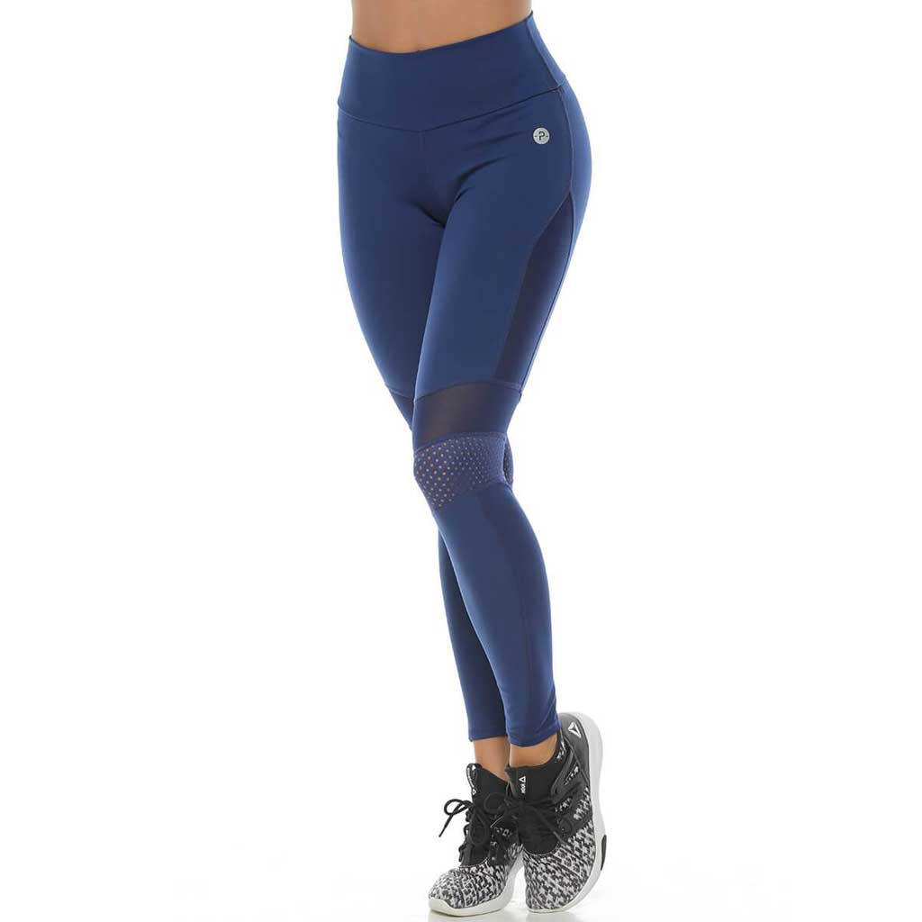 Tasha Navy Leggings - Protokolo - Palm Beach Athletic Wear