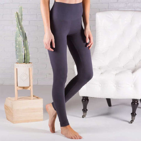Satya Yoga Wear - Charcoal Grey Mudra Drop Crotch Yoga Lounge Pant