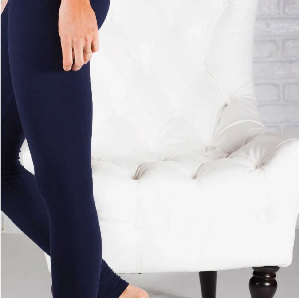 Navy Tummy Control Legging - Palm Beach Athletic Wear - Palm Beach Athletic Wear