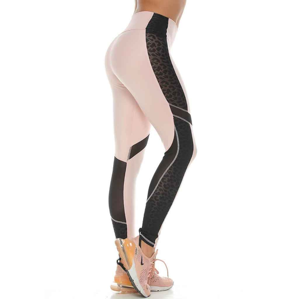 Victoria Pink Activewear Leggings - Protokolo - Palm Beach Athletic Wear