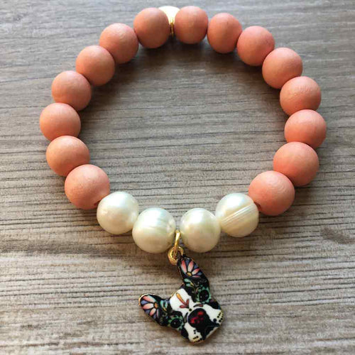 Will Sit For JOM Scoop Beaded Bracelet - JOM Jewelry - Just One More - Palm Beach Athletic Wear