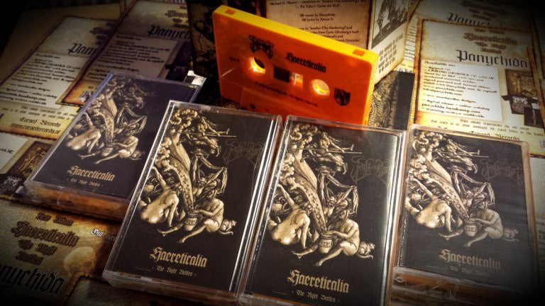 Panychida - Haereticalia - The Night Battles Cassette
