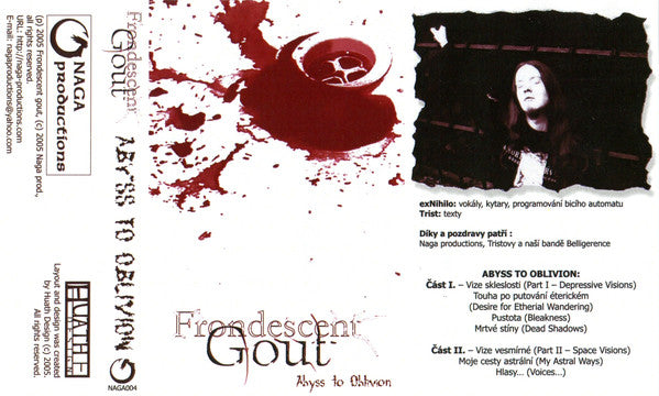Frondescent Gout - Abyss To Oblivion Cassette