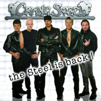 Crying Steel - The Steel Is Back! CD