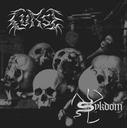 Curse/Sykdom - In Life & In Death / Verden og Fanden split CD