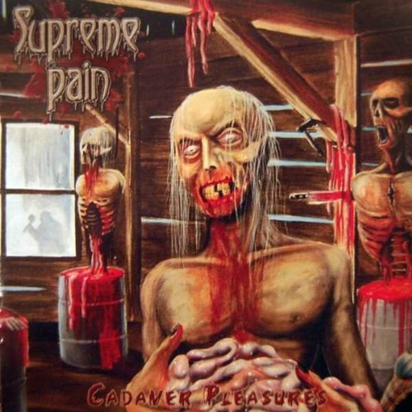 Supreme Pain - Cadaver Pleasures CD